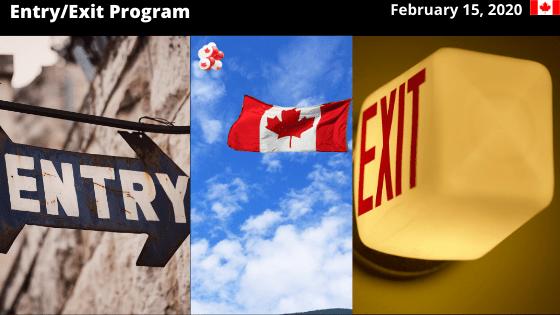 Entry/Exit Program