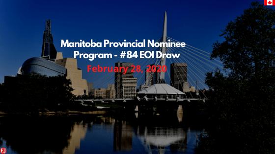 Manitoba EOI draw