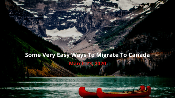 Ways to migrate to Canada