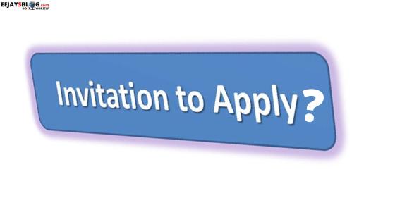 Invitation to apply