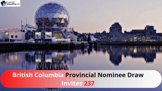 British Columbia Provincial Nominee