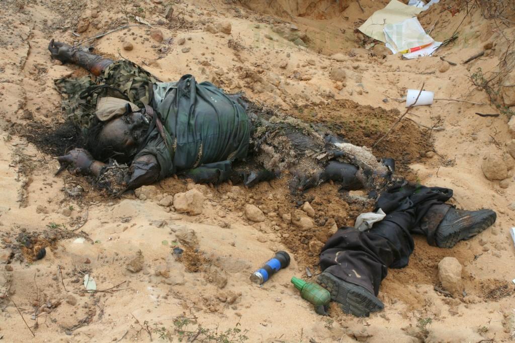 ltte dead body chemical weapon