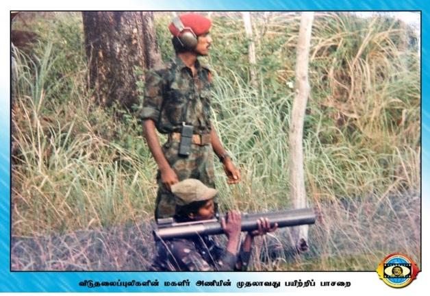 LTTE_Major_Sothiya_Women_Commando_Unit 2