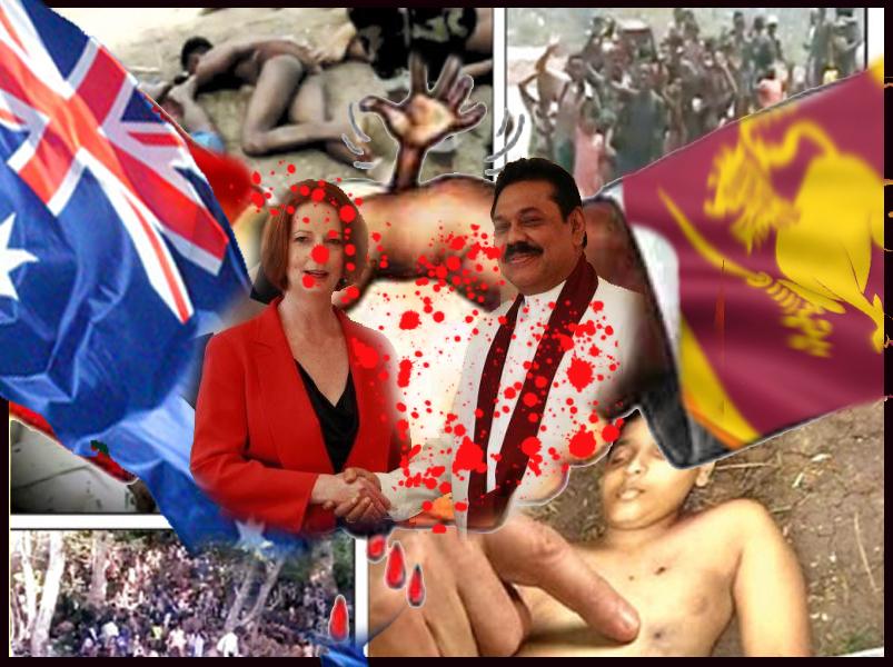 srilanka australia Genocide partners