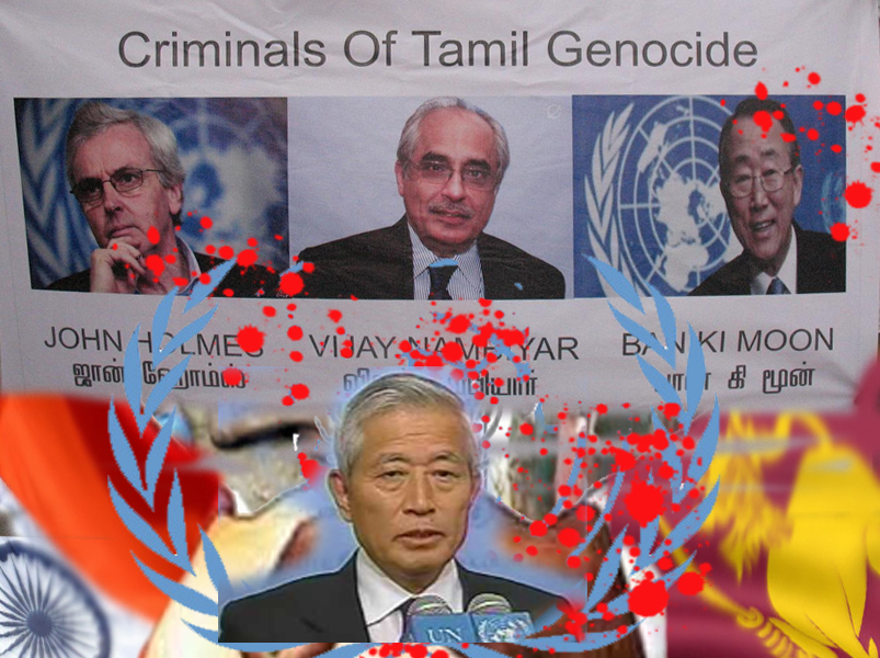 UN WAR CRIMINALS OF TAMIL GENOCIDE