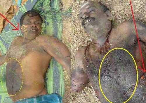 Pulidevan and  Nadesan killed