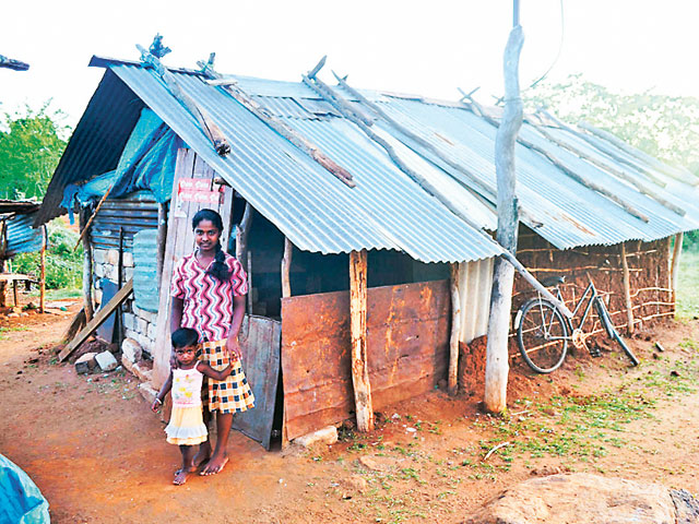 tamil people still live in shacks