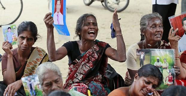 SriLankaTamil Protest Front