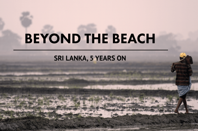Beyond the beach Sri Lanka 5 years on
