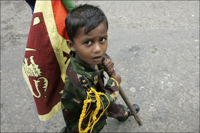 srilanka child soldier