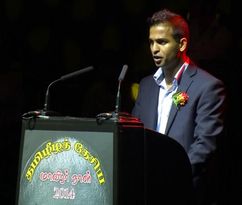 Lathan Suntharalingam at Tamil Heroes Day in UK