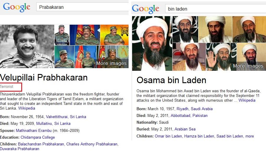 google hiding genocide tamil