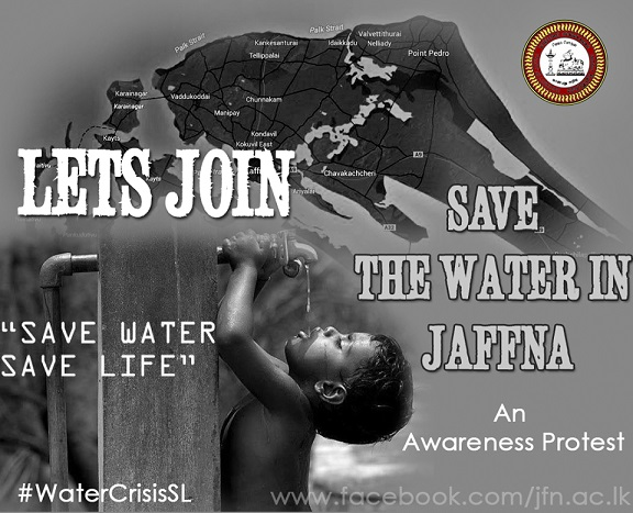 save the water jaffna