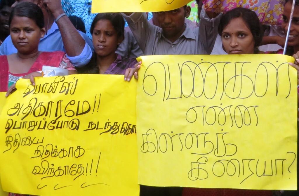 Protest over murder of school girl