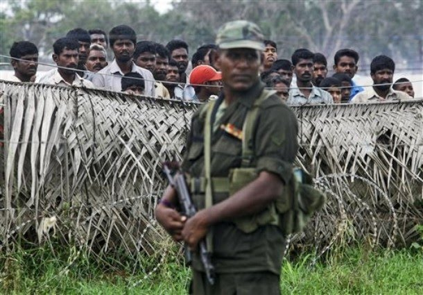 tamils struggle army