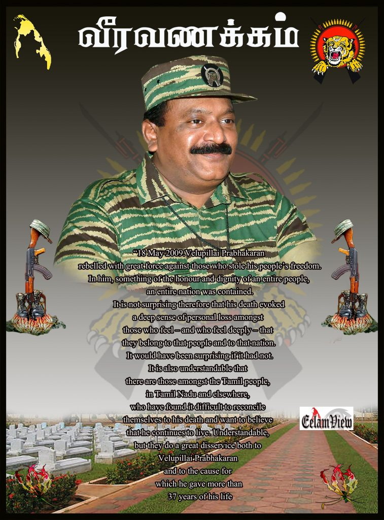 Tribute to Prabhakaran 21