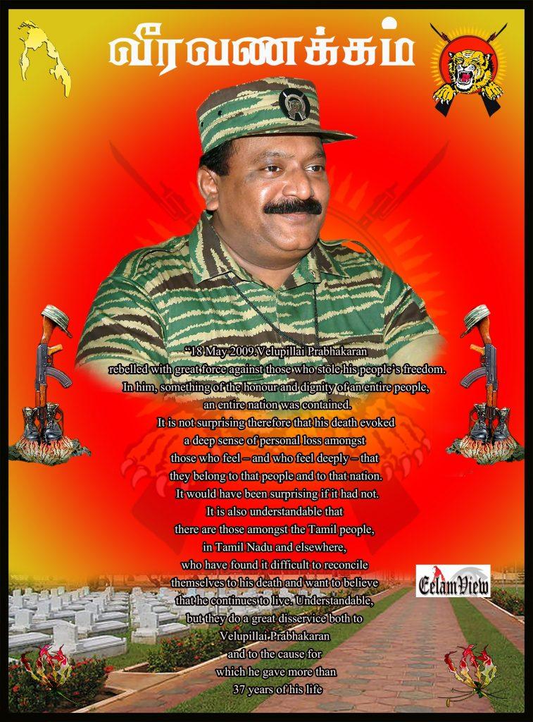 Tribute to Prabhakaran 31