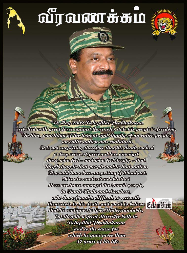 Tribute to Prabhakaran 41