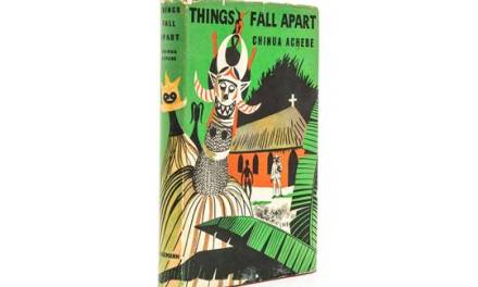 """First edition of Chinua Achebe's """"Things Fall Apart"""" sells for N1million"""