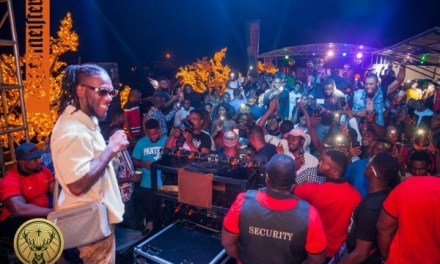 Fun Moments at Jagermeister Party With Burna Boy, DJ Instinct