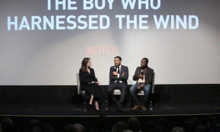 "Angelina Jolie Attends Private Screening of ""The Boy Who Harnessed The Wind"""