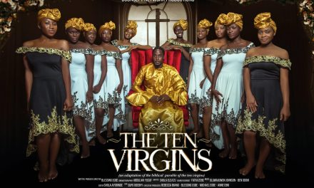 "See Behind The Scene Shots From Blessing Egbe's Forthcoming Movie, ""The Ten Virgins"""