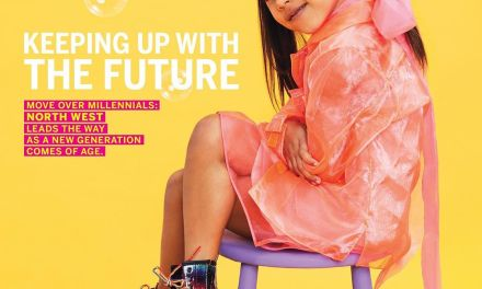 KimYe's Daughter, North West Lands First Solo Magazine Cover