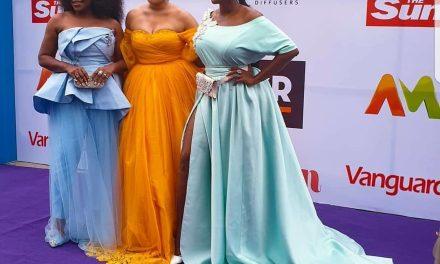"""Somkele Idhalama, Waje, Omawumi turn up for """"She Is"""" movie premiere"""