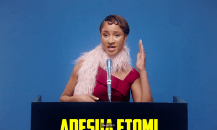 """It was amazing. I had a lot of fun""- Adesua Etomi Gives Inside Details on Vogue Shoot"