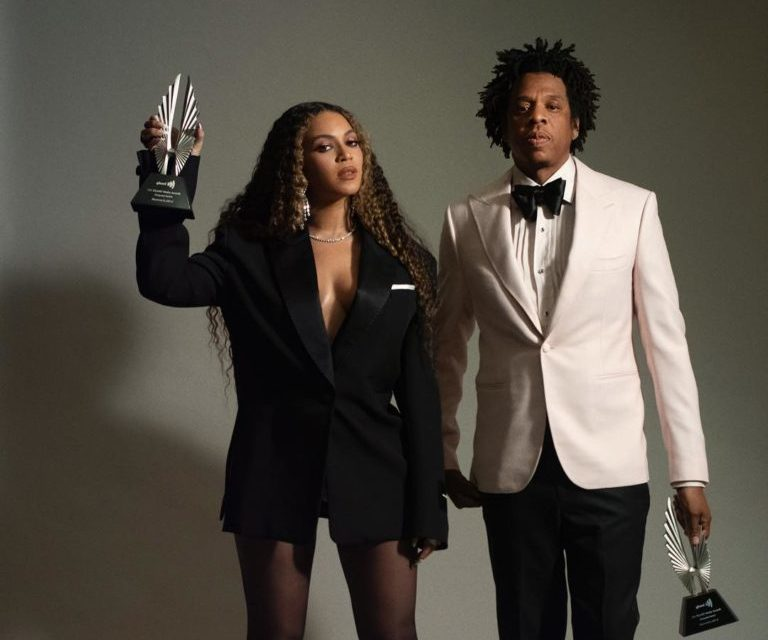 Watch Beyonce and Jay-Z Receive the Vanguard Award at GLAAD Media Awards