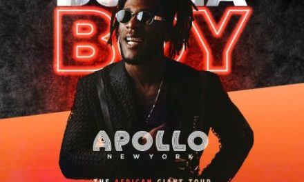 Burna Boy Joins List of Artistes to Perform At Iconic Apollo Theatre