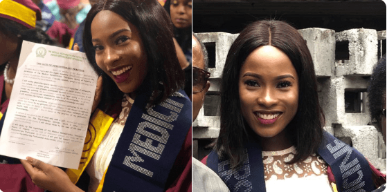 Jemima Osunde Graduates from College of Medicine