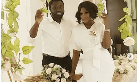 Check Out Cute Photos of Mercy Johnson and her Hubby, Odi Okojie