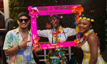"Photos: Chinneylove Eze's Movie ""Hire A Woman"" Pre-release Party was Lit!"