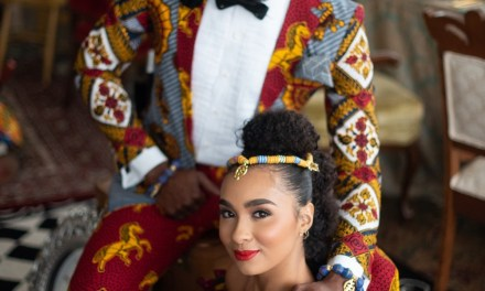 Andrew Roby Styled an African Inspired Alice in Wonderland Bridal Shoot and it is Fantastic