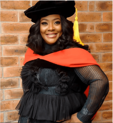 I  Was Conceived Through Rape- Helen Paul as Comedienne Dedicates PhD to Mum