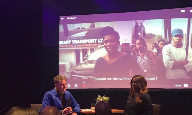 """Genevieve Nnaji holds private screening for """"Lionheart"""" in London"""