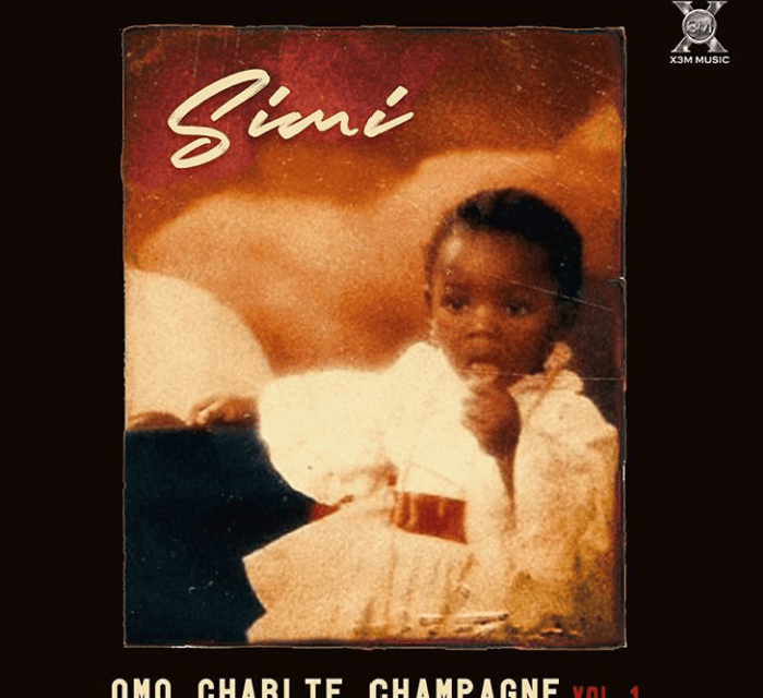 Simi Unveils Album Art for 'Omo Charlie Champagne' Vol. 1
