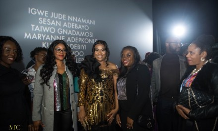 "Stella Damasus Premieres her Movie ""Between"" in London"