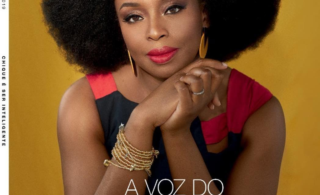 Chimamanda Ngozi Adichie is on the Cover of Marie Claire Brazil Magazine