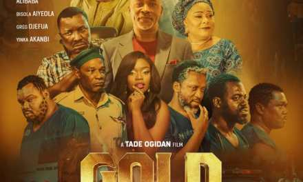 Gold Statue: We Produce Films That People  Don't Forget- Tade Ogidan