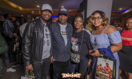 "Photos: See How the Stars Turned up for ""Knockout"" Premiere"