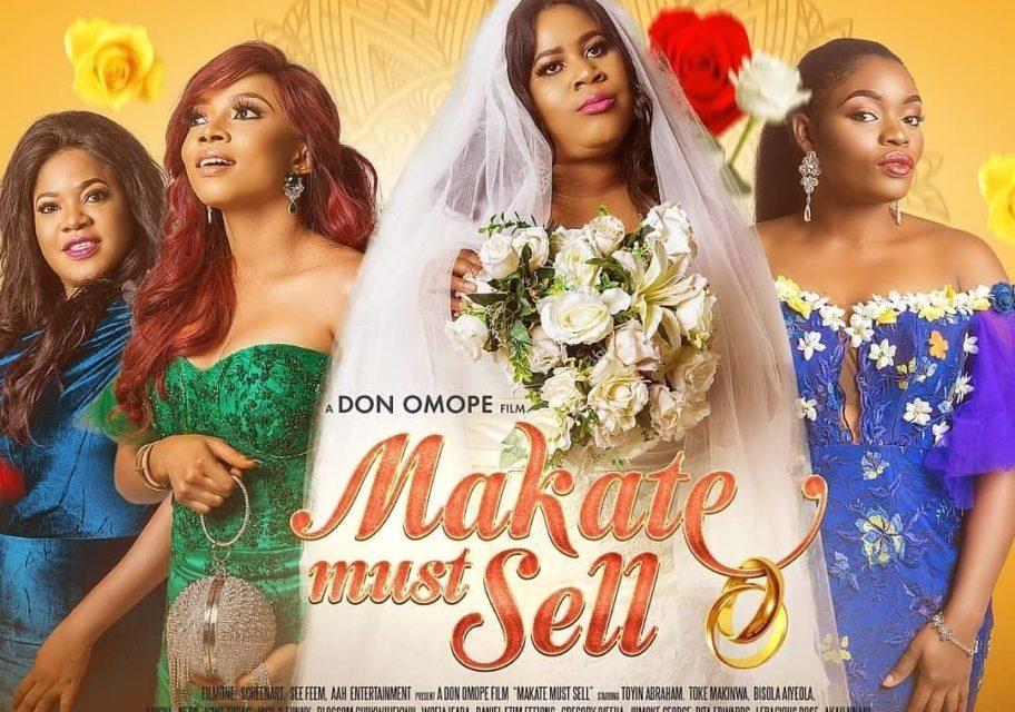 "Chigul Teases New Movie ""Makate Must Sell"" Starring Toke Makinwa"