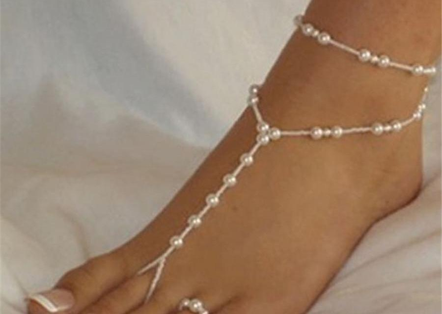 Glam your feet with Anklets