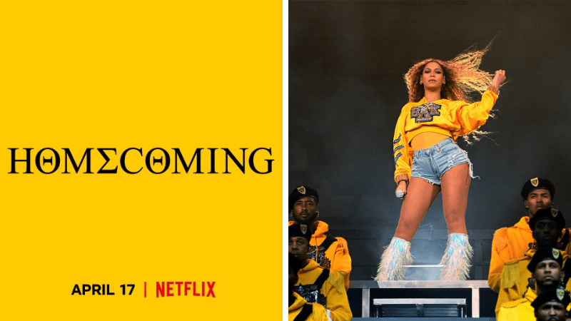 "Netflix Reveals Trailer for Upcoming Beyonce Documentary ""Home coming"""