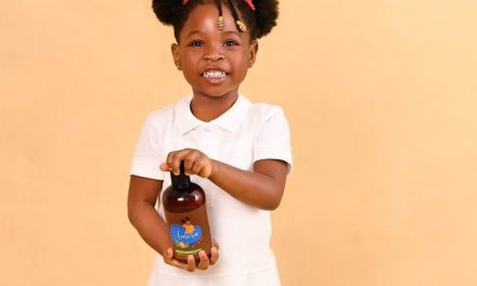 Davido's 4-Year-Old Daughter  Imade Adeleke Launches Beauty Product