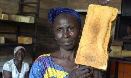Chika Okoli Shoots Documentary On 'Fresh Agege Bread'