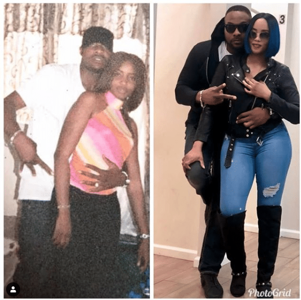 #Throwback of life! See Bolanle Ninalowo and Wife 15yrs Ago