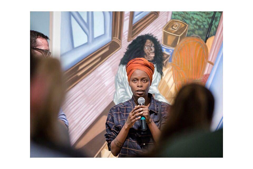 Meet Toyin Ojih Odutola, 3rd Highest Selling Nigerian Artist Ever