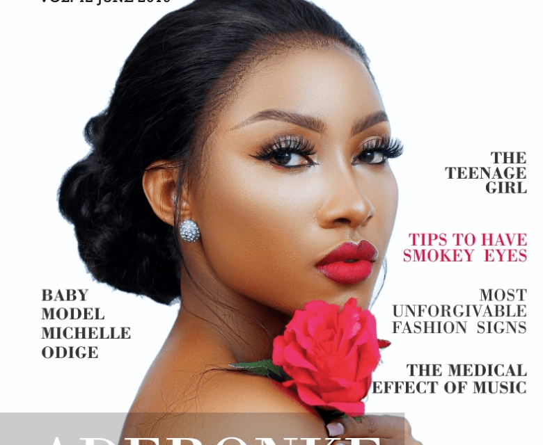 Ronke Tiamiyu is the Belle on LaMode Magazine's June Edition